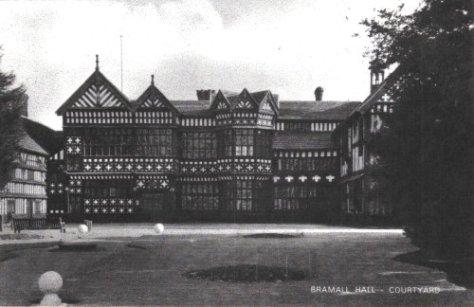 Courtyard at Bramhall Hall